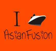 I Ship Asian Fusion! Kids Tee