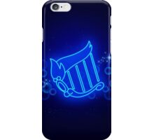 Sailor Mercury Henshin Background iPhone Case/Skin