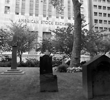 Death and the American Stock Exchange. by briceNYC