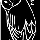 "CUS: ""I got my sisters back"" OWL with BLACK background by claudia LAMY"