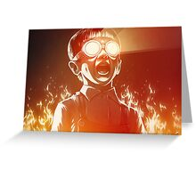 FIREEE! Greeting Card