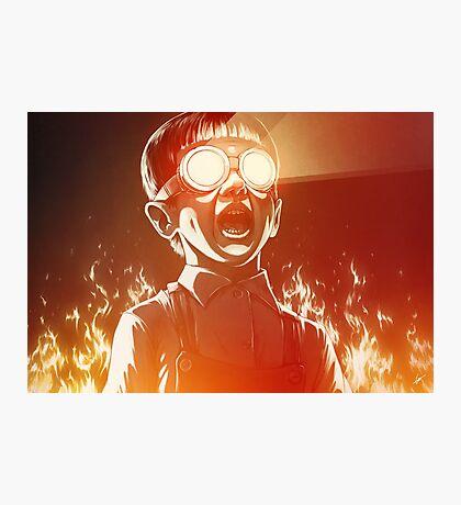 FIREEE! Photographic Print