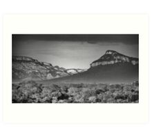 Drakensburg Escarpment Art Print