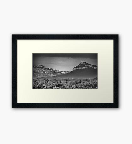 Drakensburg Escarpment Framed Print