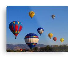 Balloon Launch Metal Print