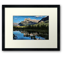 Reflections on the Lakes Framed Print