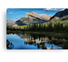 Reflections on the Lakes Canvas Print