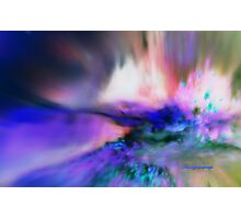 BURSTING ENERGY FROM WITHIN/ DEDICATED TO 9-11-2001-2012 Photographic Print
