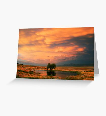 Twilight Rolling In Greeting Card