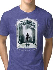 Snape Memories Black Tri-blend T-Shirt