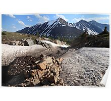 Above Highwood Pass IV Poster