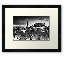 Edinburgh In Ermine Framed Print