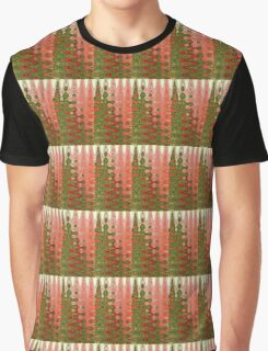 Abstract Christmas Trees Graphic T-Shirt