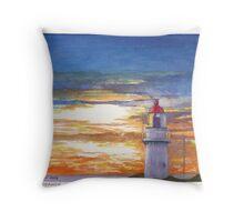 Cape Schanck Light, Victoria, Australia Throw Pillow