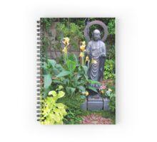 Garden Statue Spiral Notebook