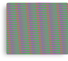 Interference Pattern Canvas Print