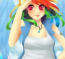 Rainbow Dash -MLP Poster by Dayna  Walton