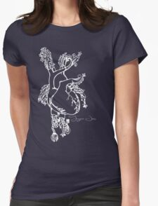 Tigers Jaw Heart Design Womens Fitted T-Shirt