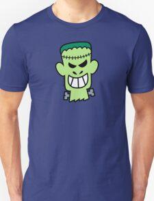 Naughty Halloween Frankenstein T-Shirt