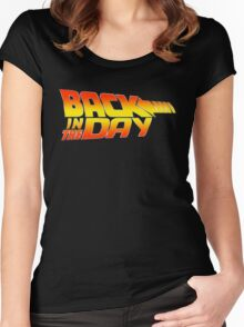Back in the Day Women's Fitted Scoop T-Shirt