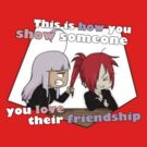 How you show you love their friendship by scarlet-neko