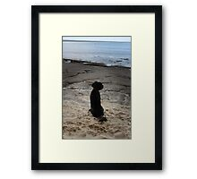 Ocean and Earth Framed Print