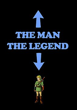 The Man, The Legend of Zelda by jezkemp
