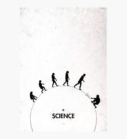 99 steps of progress - Science Photographic Print