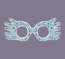 Luna Lovegood Spectrespecs - Turquoise by Jessica Morgan
