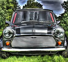 Classic Mini Car by decartsnorth