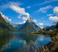 Beautiful Milford Sound by Chris  Randall