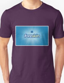Foreskin (Foursquare Logo Parody) T-Shirt
