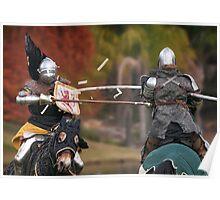 Medieval Magic - Jousting on Target Poster