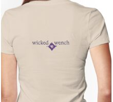 wicked wench Womens Fitted T-Shirt
