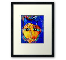 There's something fishy going on  Framed Print