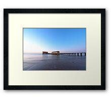 Calm Sea & Blue Sky Framed Print