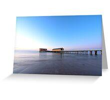 Calm Sea & Blue Sky Greeting Card
