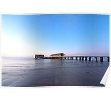 Calm Sea & Blue Sky Poster