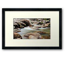 Slow Flow - Josephine Falls, far north Queensland Framed Print