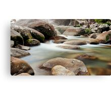 Slow Flow - Josephine Falls, far north Queensland Canvas Print