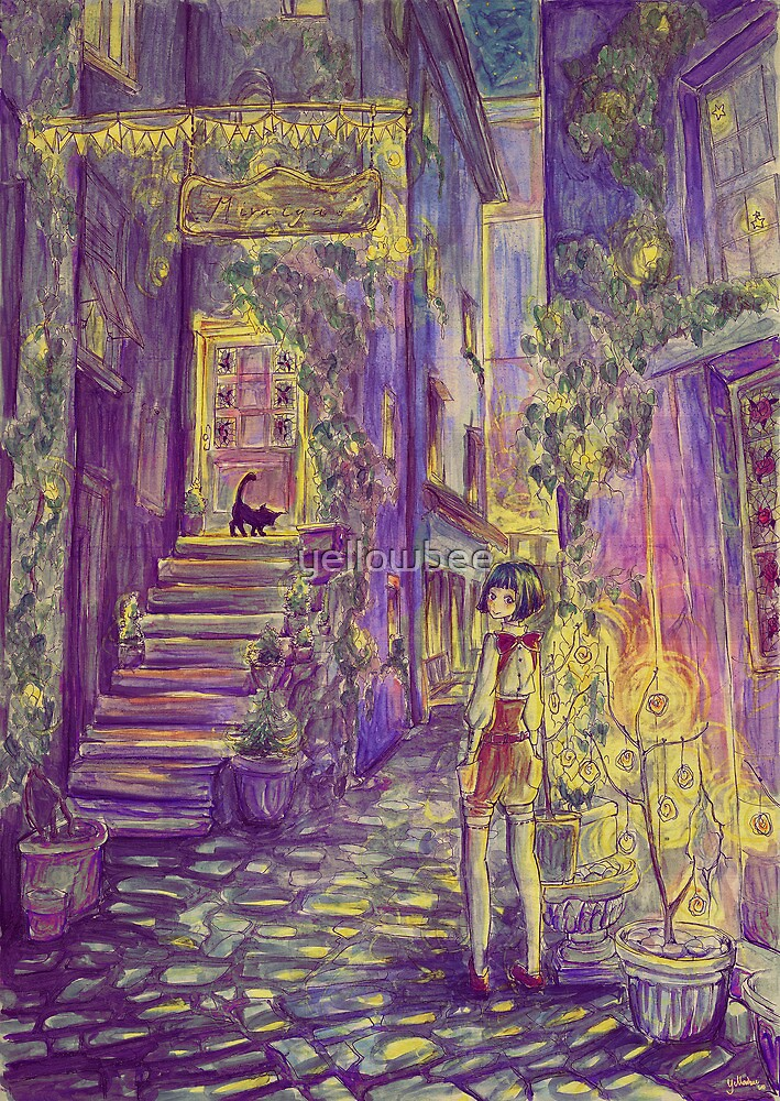 Down the Alleyway by yellowbee