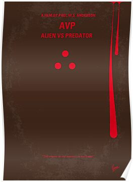No148 My AVP minimal movie poster by Chungkong