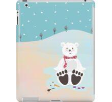 Sitting bear iPad Case/Skin