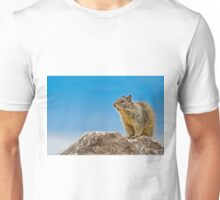 California Ground Squirrel, (Spermophilus beecheyi) Unisex T-Shirt