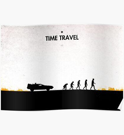 99 steps of progress - Time travel Poster