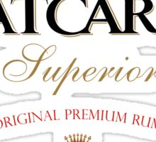 Batcardi Rum Sticker
