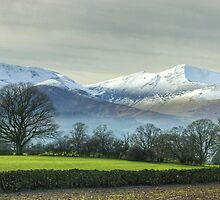 The Coledale Round From Castlerigg by Jamie  Green