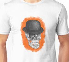 Clockskull orange Unisex T-Shirt