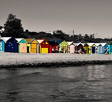 bathing boxes. by Anja Fuechtbauer