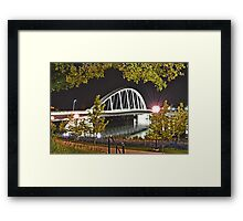 Main Street Bridge - Columbus, Ohio Framed Print